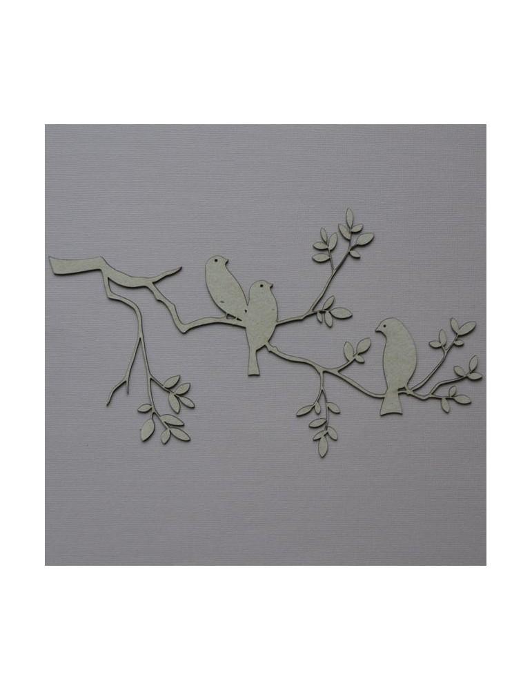 Branches avec oiseaux