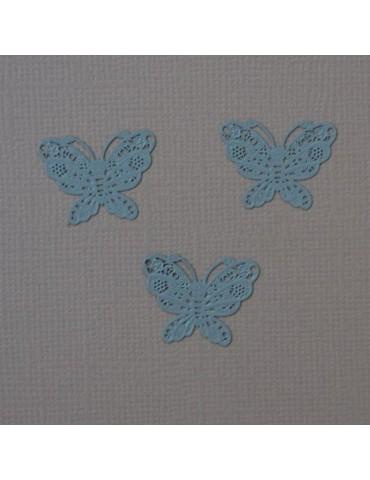 3 papillons gris