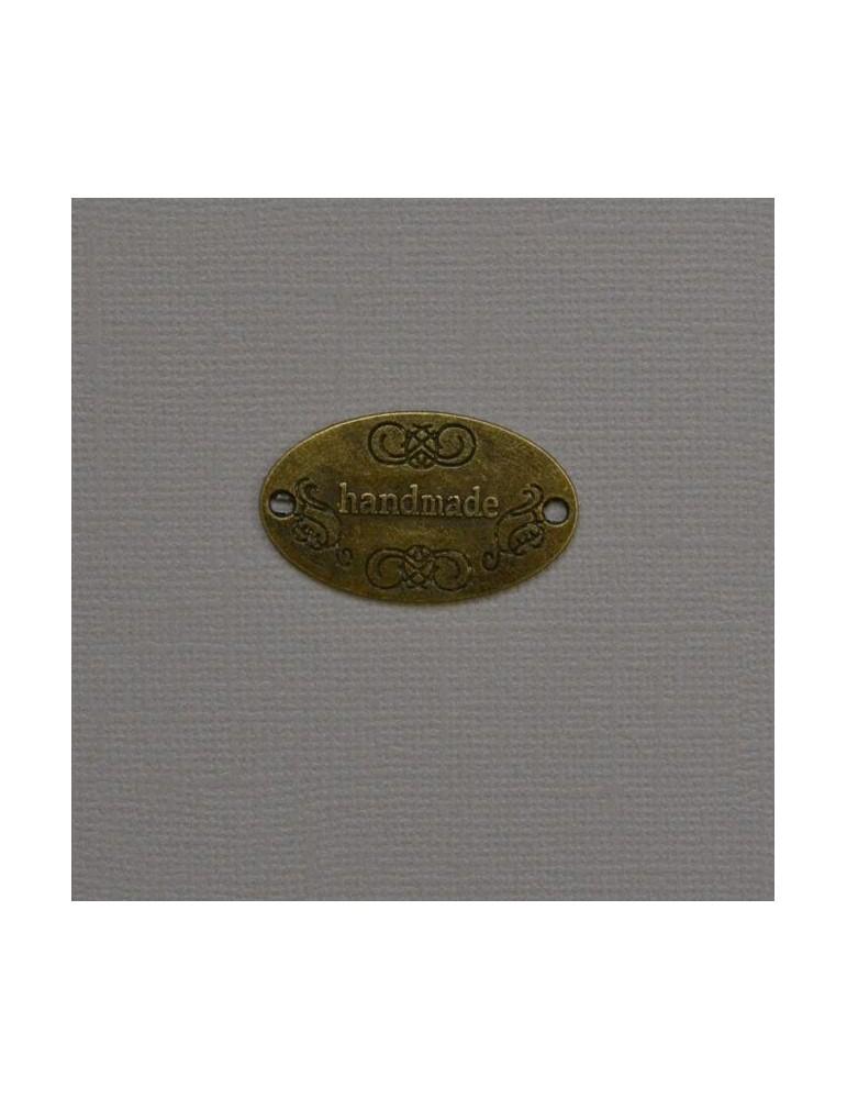 "Plaque cuivre "" handmade"""
