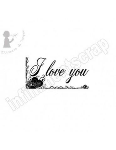 Tampon I love you