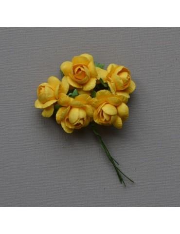 Fleurs jaunes 2 cm