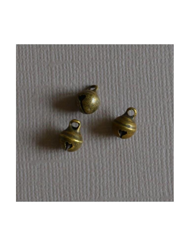 3 petits grelots cuivre