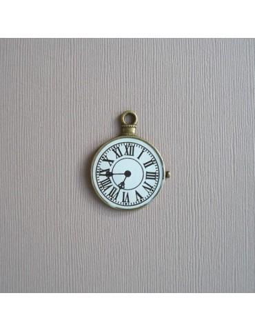 Pendule ancienne cuivre