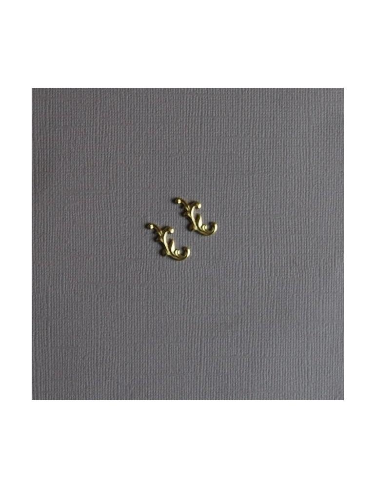 Minis arabesques en métal
