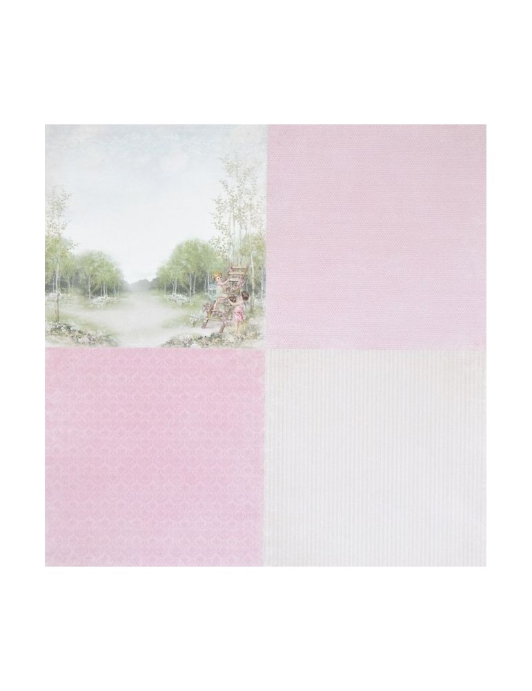 "Papier Pion Design Easter Greetings ""Spring Fairies""6x6"