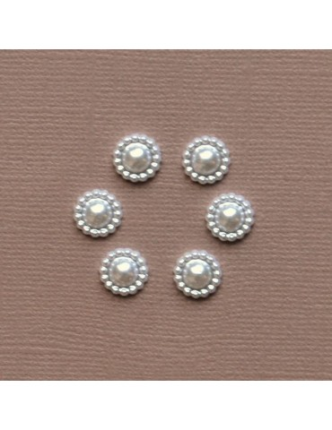 6 mini perles 8mm