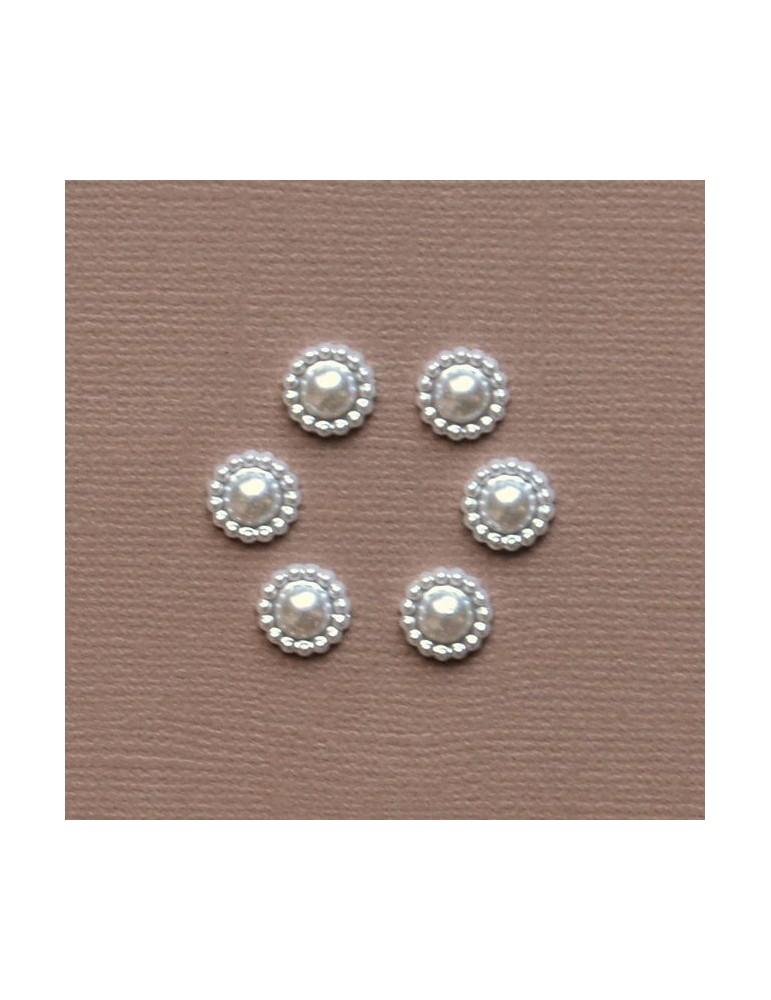 6 mini perles 8mm