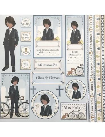 Papier Dayka Trade Images Jeune homme
