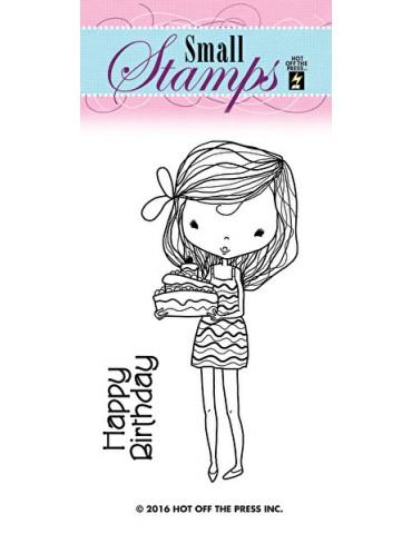 Mini tampon Girl birthday