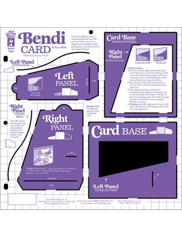 Gabarit Bendi Card
