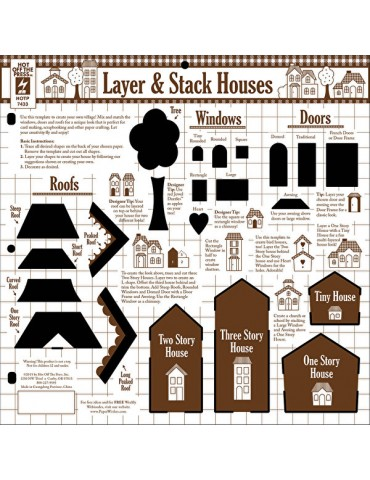 Gabarit Layer and Stack Houses