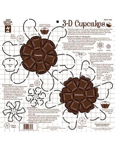 Gabarit cupcakes
