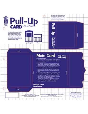 Gabarit Pull-up Card