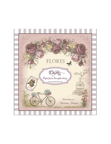 Bloc papier Flores Dayka