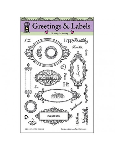 Greetings & Labels