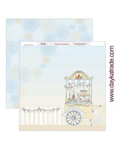 Papier Dayka Trade Chariot...