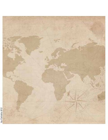 Papier Litoarte Fond de voyage