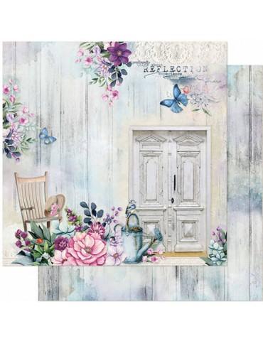 Papier Litoarte Porte fleurie