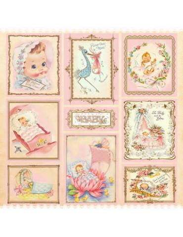 Papier Arte Facil Baby Girl