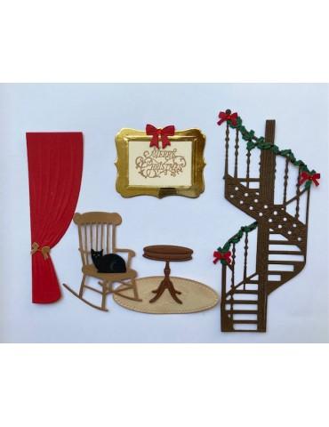 L'intérieur de Noël