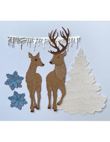 Le couple biche-renne