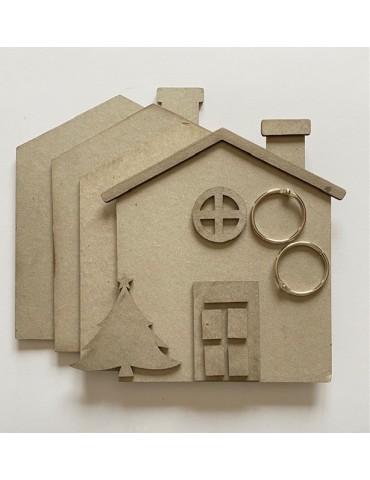 Mini album maison Texturarte