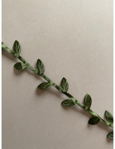 Ruban de feuilles vertes