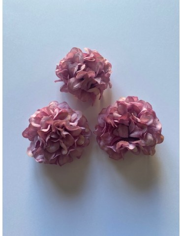 3 fleurs d'hortensia