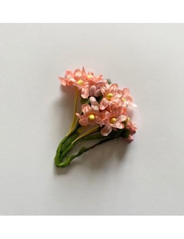Bouquet de fleurs saumons