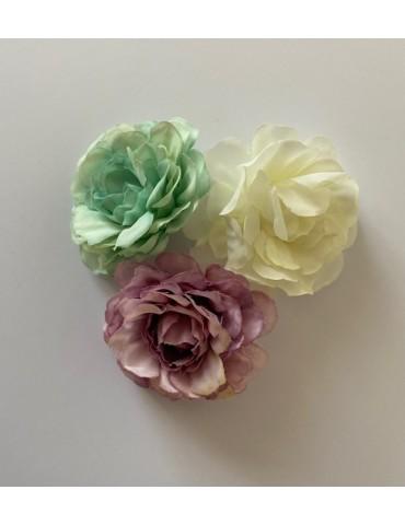3 fleurs pastels