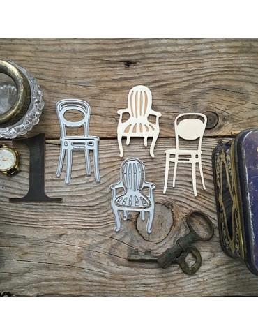 Dies minis chaises