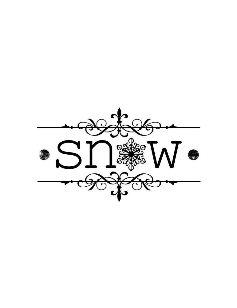 Tampon snow