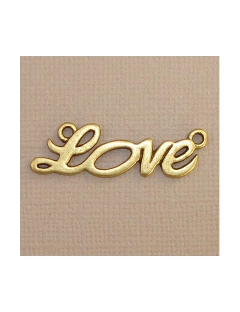 "Breloque mot ""LOVE"""