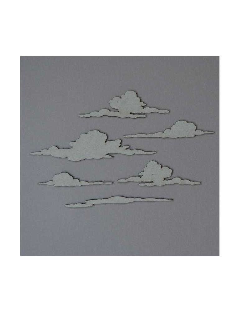 lot de 6 nuages